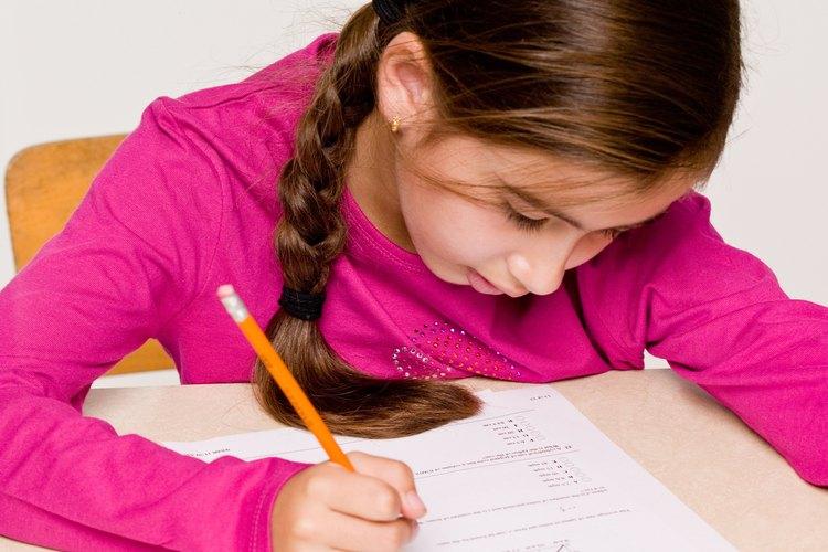 Los días de las pruebas pueden ser estresantes para los niños.