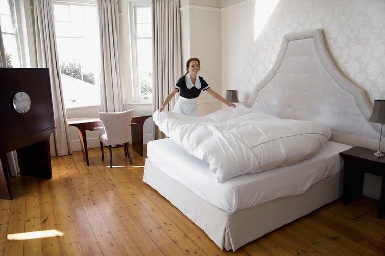 Una buena cama contribuye a un buen sueño.