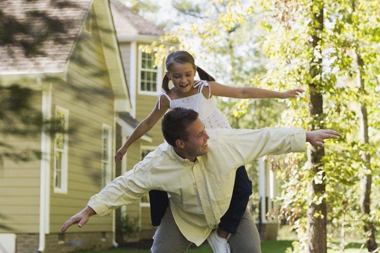 Los padres son importantes en la formación del comportamiento del niño.