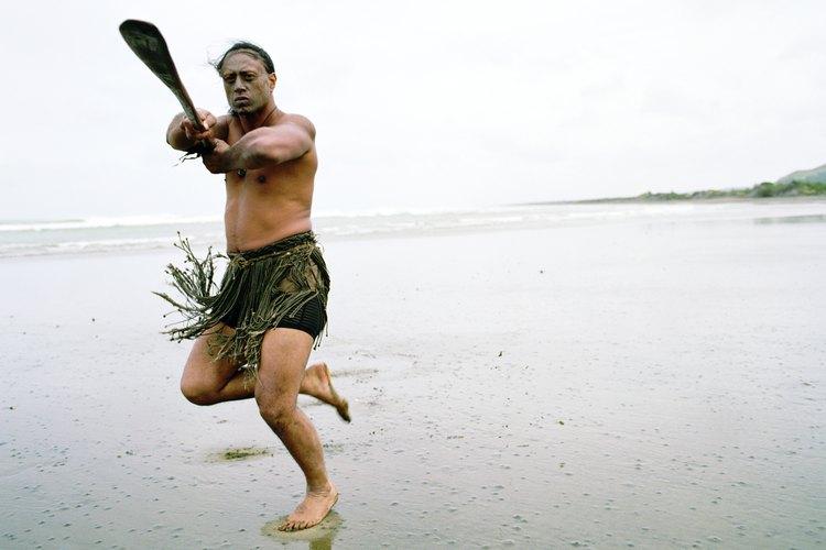 """Powhiri es la palabra maorí para """"bienvenida""""."""