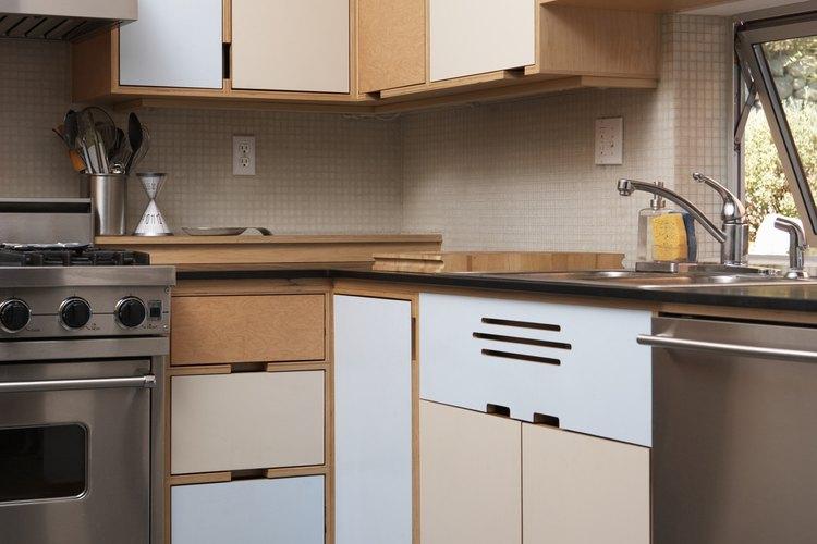Cómo diseñar un gabinete esquinero de cocina para utilizar mejor la ...