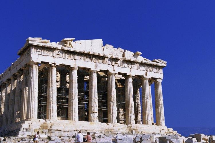 Los juegos con los que la gente se divertía a la sombra del Partenón, son disfrutados aún en la actualidad.