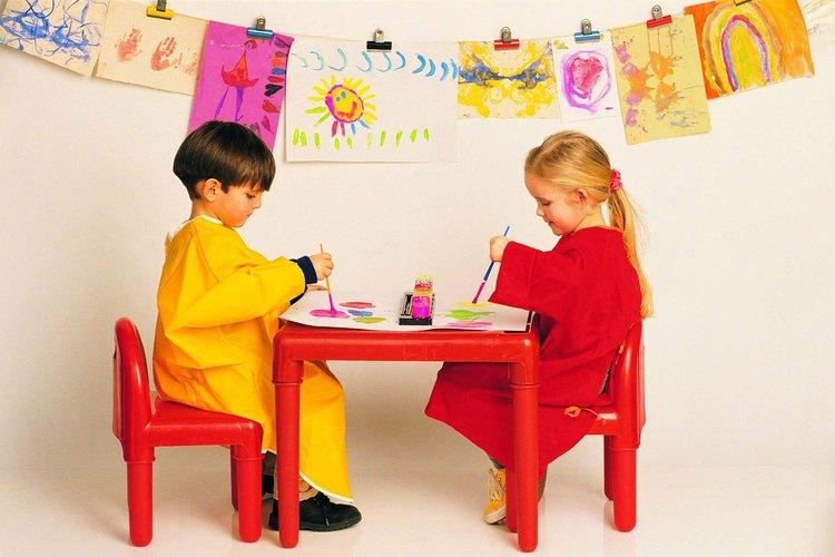 El arte es una poderosa herramienta educativa para los niños en edad preescolar.