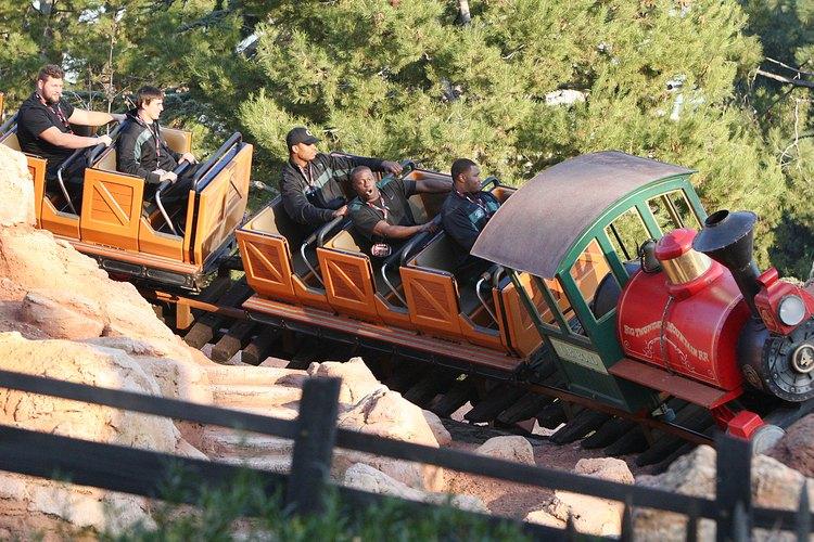 Tren de Disneylandia.
