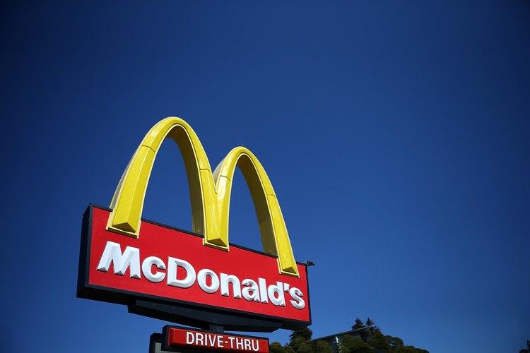 Signo de McDonald's.