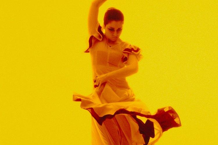 Los abanicos españoles se usan en el tradicional baile del flamenco.