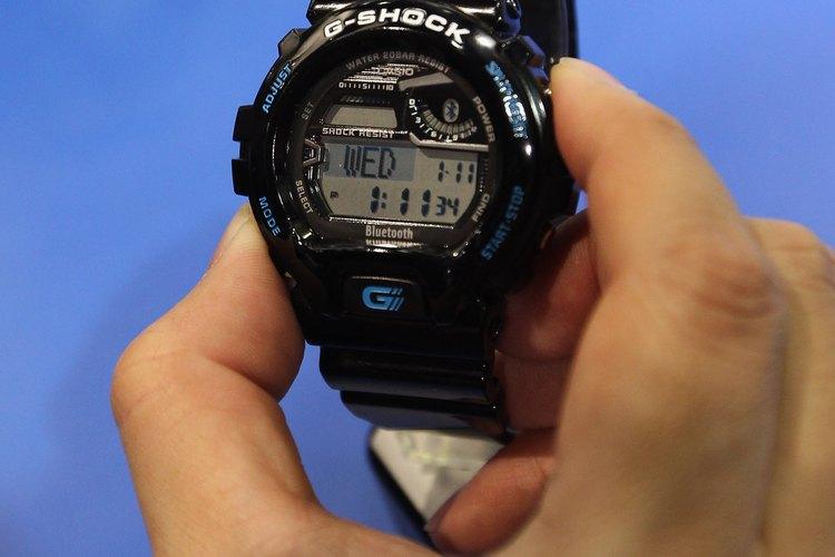 Para configurar un reloj G-Shock, necesitas alrededor de cinco minutos.