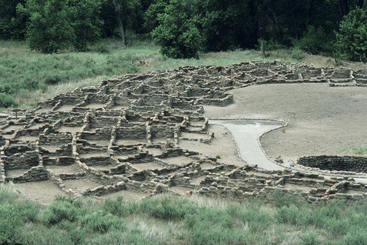 Las ruinas de los antiguos nativos americanos ayudaron a tener pistas de la dieta de la tribu.