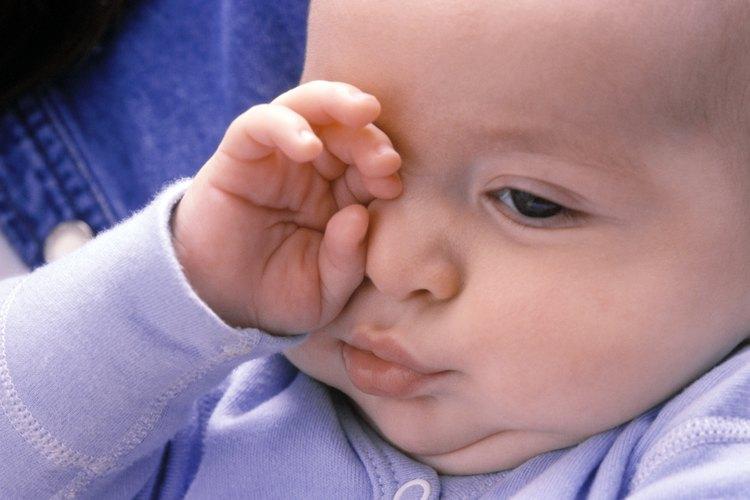 Los bebés con sueño pueden tener dificultades para descansar si tienen comezón.