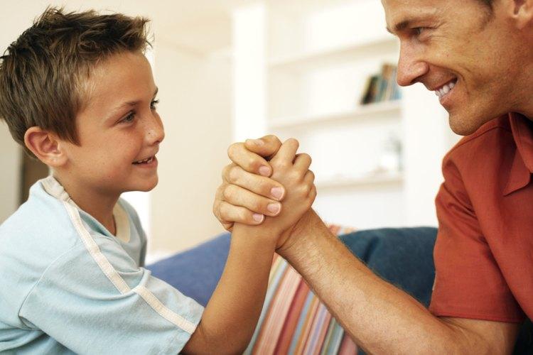 Enséñale a tu hijo que la mansedumbre puede ser la fuerza.
