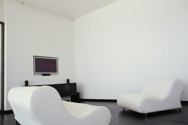 C mo pintar con pintura blanca una habitaci n de color azul - Imprimacion paredes ...