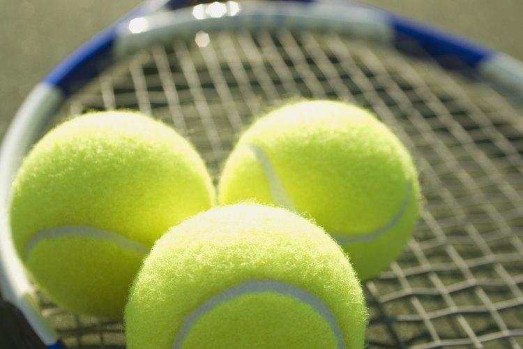 Las pelotas de tenis esponjan efectivamente los edredones, toallas y otros artículos grandes.