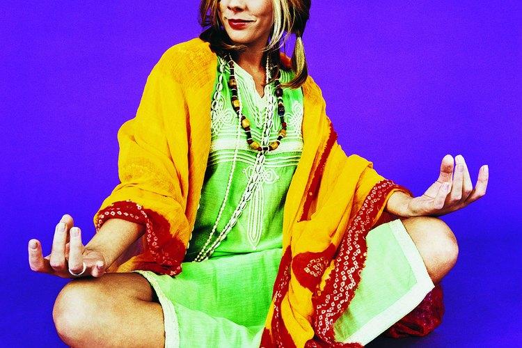 Pareja hippie.