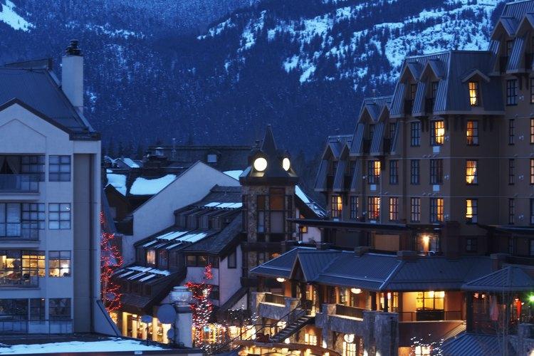 Los juegos olímpicos de invierno de 2010 se realizaron en Whistler Blackcomb, en Columbia Británica.