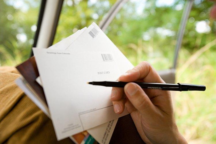 El servicio postal ofrece varios métodos con diferentes tiempos de entrega.