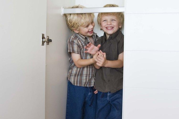 La profundidad del armario está determinada por las necesidades de almacenamiento.
