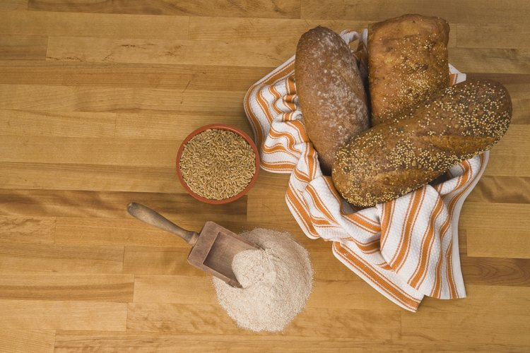 El pan casero es una delicia.