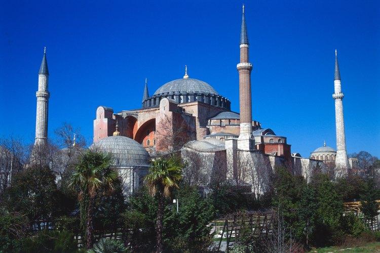 La Haggia Sophia en estambul fue una vez la capital del catolicismo oriental.