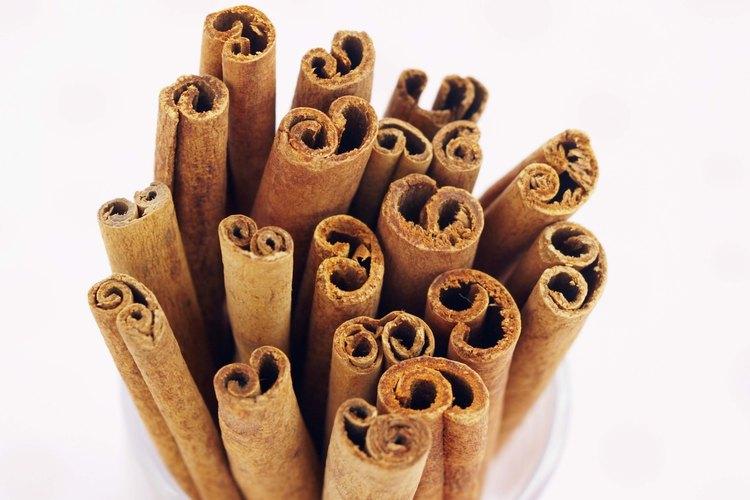 Los palitos de canela sirven más que como adorno.