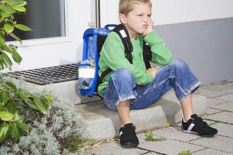 Reta a tu hijo a que te diga qué es lo que le molesta.