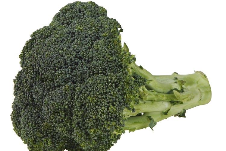 El brócoli es el más conocido de ambos vegetales.
