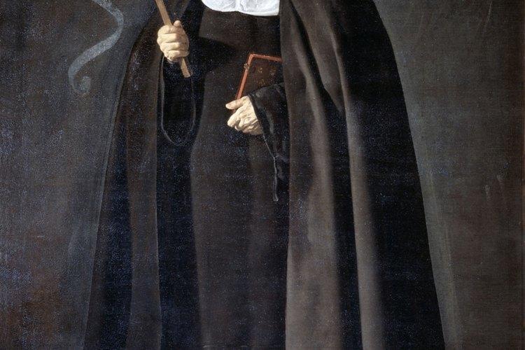 Las monjas han utilizado hábitos por siglos.