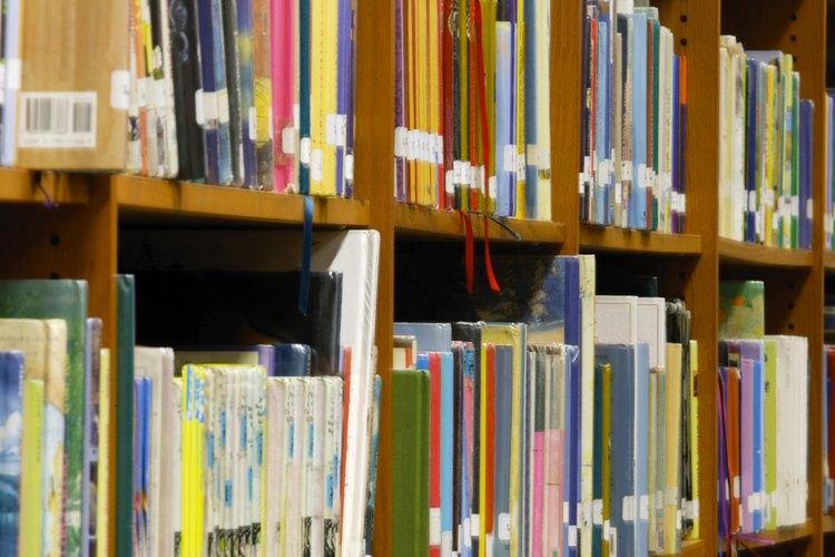 La organización que encuentras en una biblioteca es una enorme ventaja.