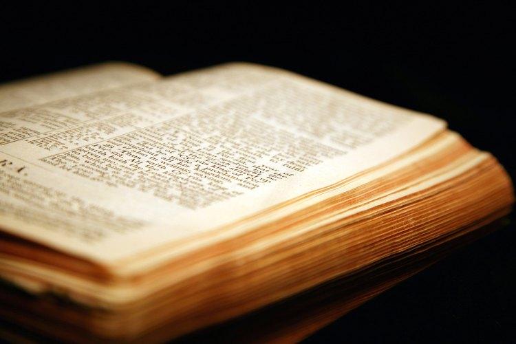Hay muchas similitudes entre el Antiguo y el Nuevo Testamento.
