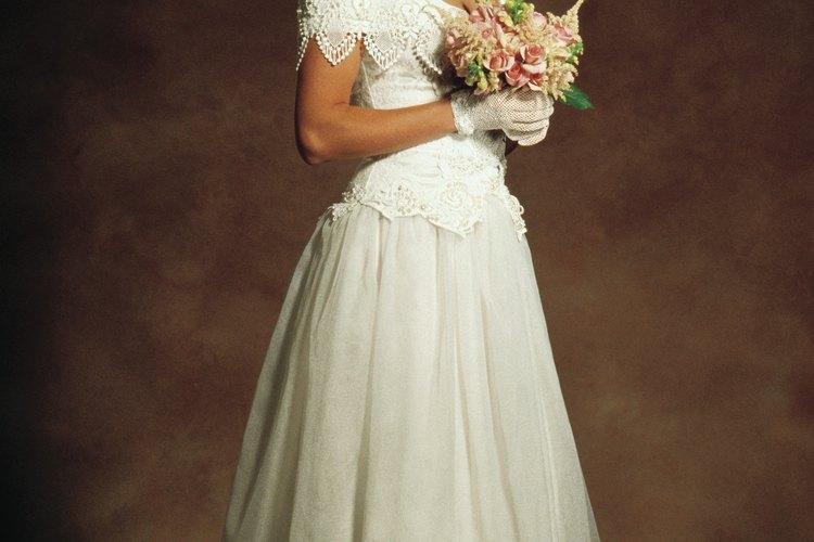 Un vestido de boda católica debe ser modesto.