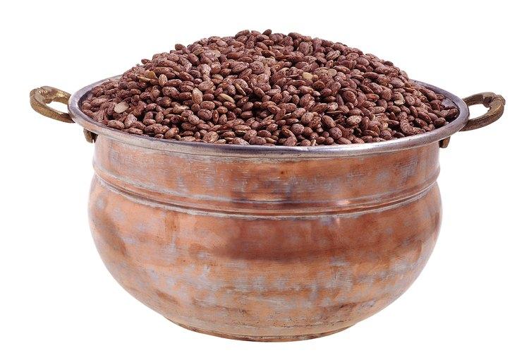 Los frijoles son un ingrediente principal y económico con bastante proteína.