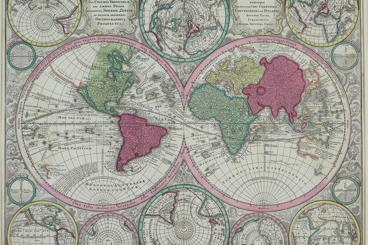 """El tamaño del mundo creció enormemente cuando los europeos encontraron el """"Nuevo Mundo""""."""