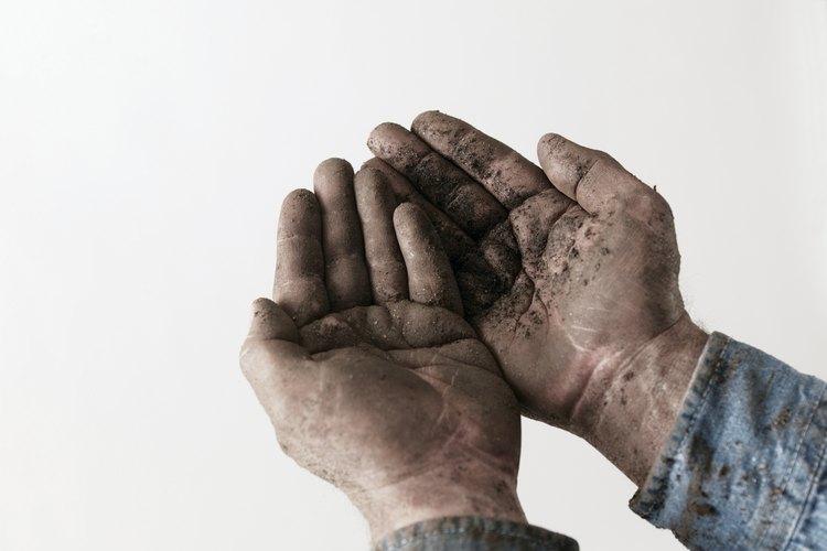 Deshazte de las manos sucias.