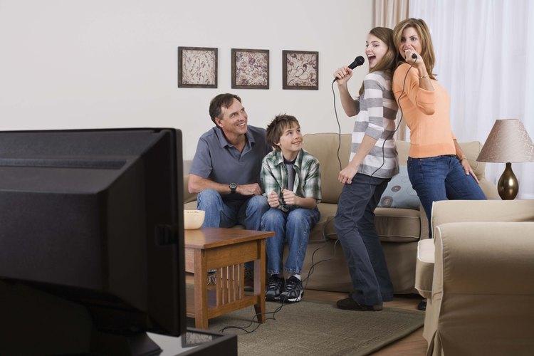 La música compartida puede ser una manera de unir familias.