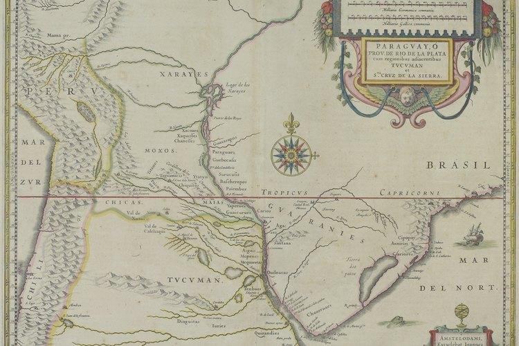 Las tribus guaraníes habitaban países de América del Sur como Brasil y Paraguay.