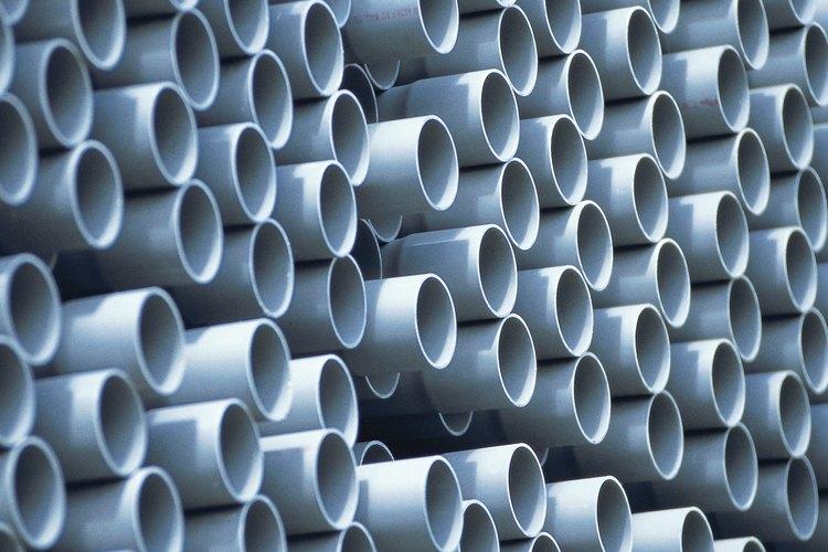 Las tuberías de PVC fueron hechas originalmente para plomería.