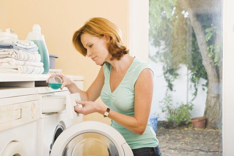 Los detergentes regulares son usados en las máquinas de lavado regulares.