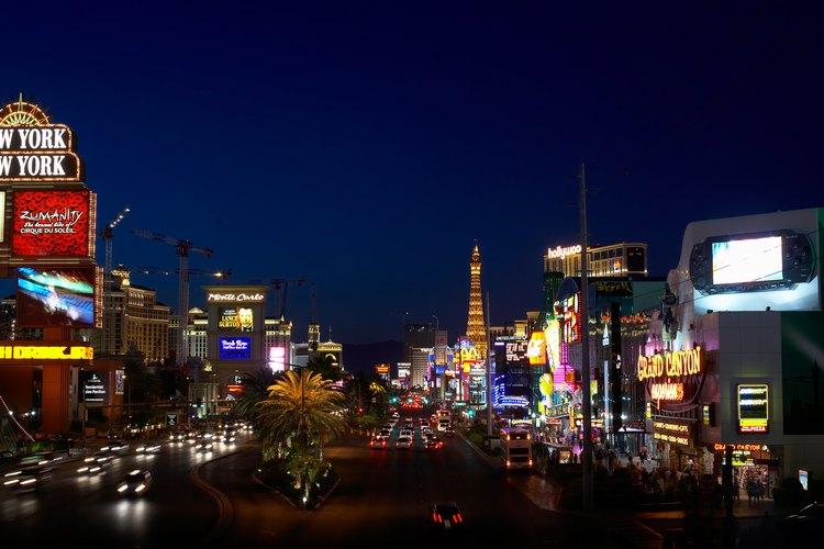 The Strip es la calle más famosa y fotografiada de Las Vegas.