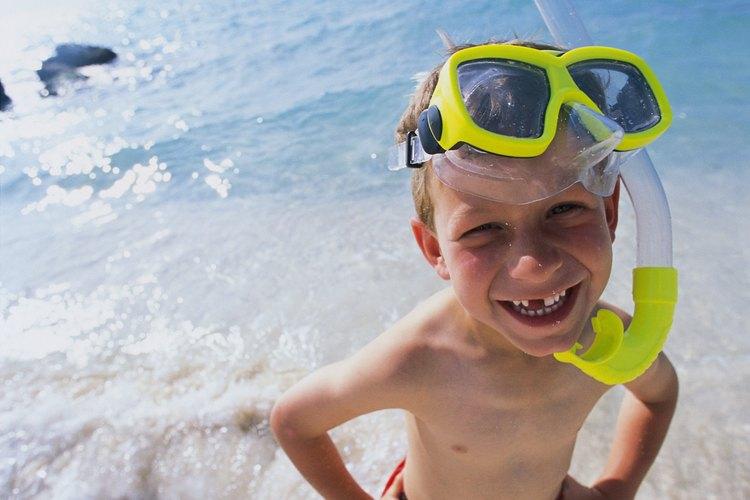 Los centros turísticos y excursiones en la Isla Gran Cayman proporciona equipo y clases para buceadores novatos.