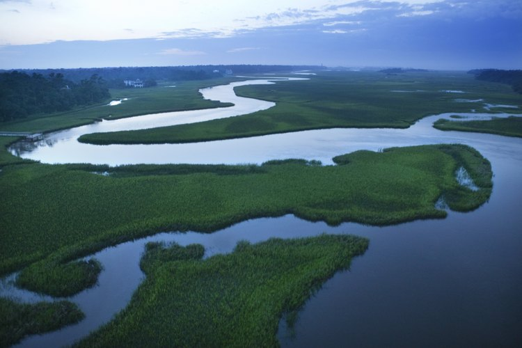 El agua es un potente agente erosivo.