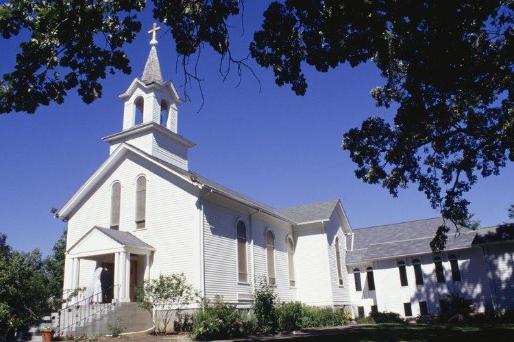 Para un evento tradicional, el servicio puede ser en una iglesia, un templo o algún otro edificio religioso.