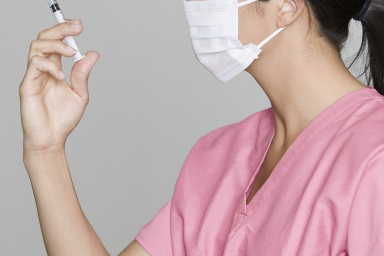 Las enfermeras registradas.