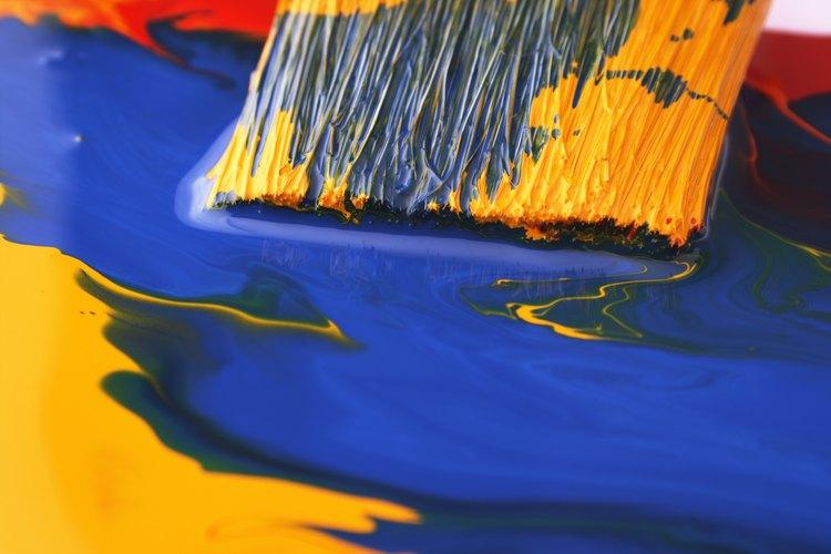 Reduce el tiempo de secado de la pintura horneándola sobre metal.