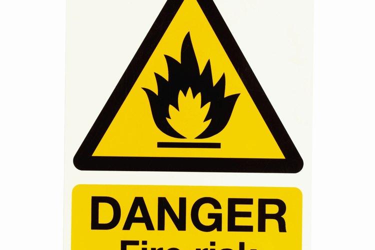 El triángulo de fuego representa los elementos necesarios para sostener el fuego.