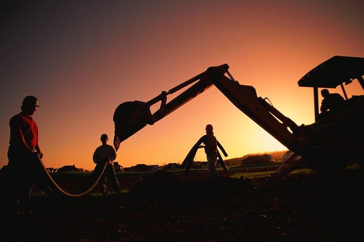 Las retroexcavadoras son partes integrales procesos de construcción.