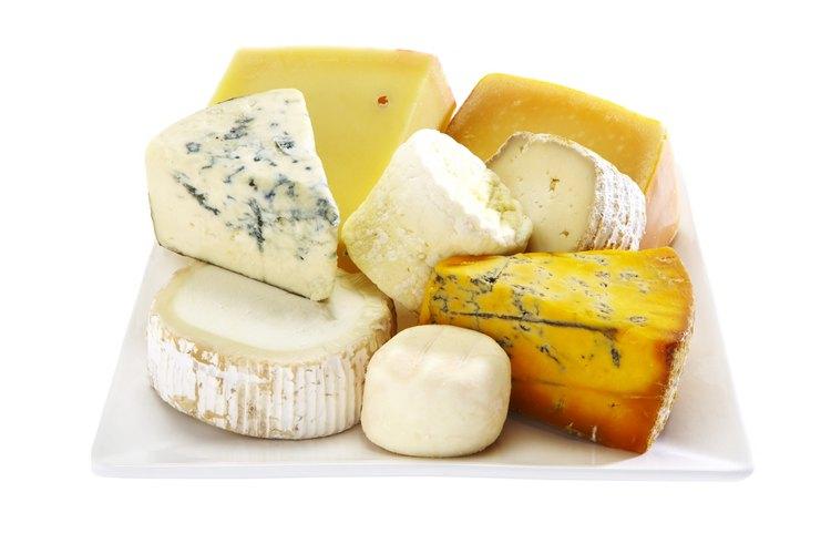 El queso está fermentado.