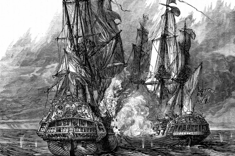 El galeón fue utilizado para la exploración y la guerra.