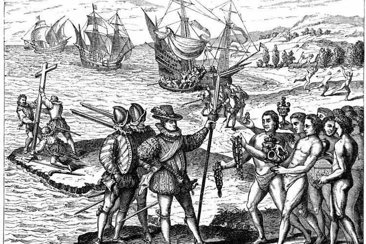 Colón afectó a los indígenas americanos de diversas formas.