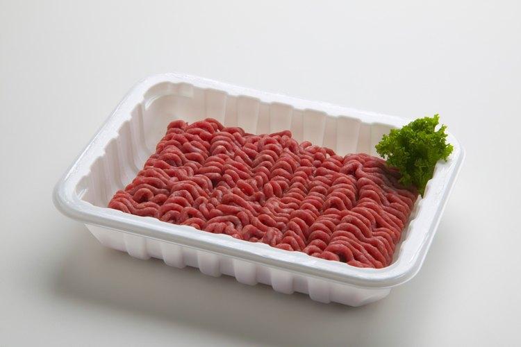 Averigua si la carne picada que compraste aún está fresca.