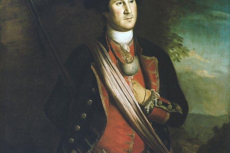El conflicto colonial vio el ascenso a la fama del joven mayor George Washington.