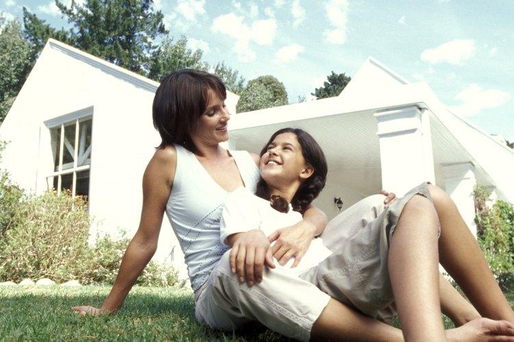 Los bungalows le dan a las familias un lugar económico para vivir.